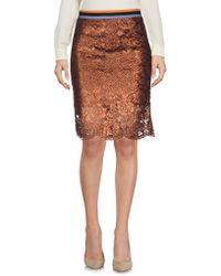 DV ROMA - Knee Length Skirt - Lyst