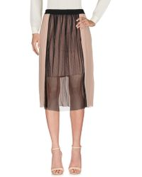 Boutique De La Femme - 3/4 Length Skirt - Lyst