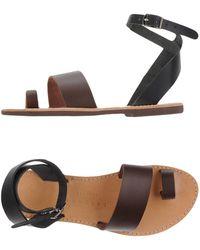 Isapera - Toe Strap Sandal - Lyst