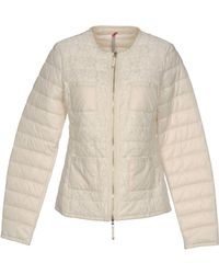 Scee By Twin-set - Synthetic Down Jacket - Lyst