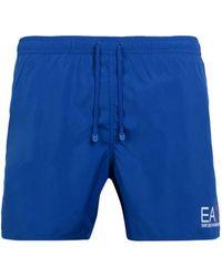 EA7 Short de bain - Bleu