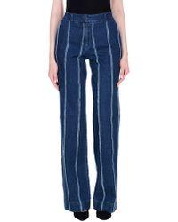 Blu Byblos - Denim Pants - Lyst