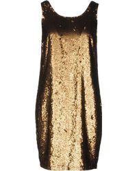 Lauren by Ralph Lauren - Short Dress - Lyst