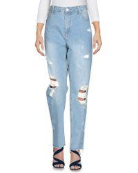 MOMOKROM® - Denim Trousers - Lyst