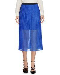 Replay - 3/4 Length Skirt - Lyst