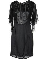 Met - Short Dress - Lyst
