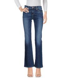 Joe's Jeans - Denim Trousers - Lyst