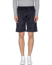 4ce1e79c60e6 Lyst - Neil Barrett Jersey Bermuda Shorts in Black for Men
