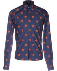 Kris Van Assche - Horse Head Print Shirt - Lyst