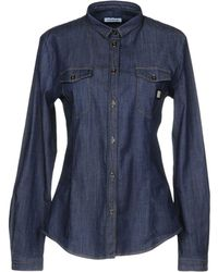 Bikkembergs - Denim Shirt - Lyst
