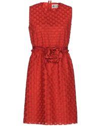 Lanvin - Short Dress - Lyst