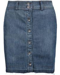 Splendid - Cesaire Stretch-denim Mini Skirt - Lyst