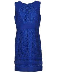 EVASSÉ - Short Dress - Lyst