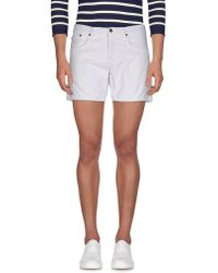 People - Denim Bermudas - Lyst