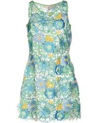Agogoa - Short Dress - Lyst