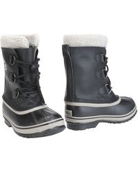Sorel - Caribou™ Leather And Rubber Boots - Lyst