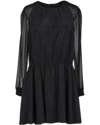 Karl Lagerfeld - Short Dress - Lyst