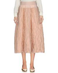 Antonino Valenti - 3/4 Length Skirt - Lyst