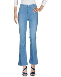 Mother - Pantalon en jean - Lyst