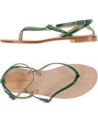 Giallo Positano - Toe Strap Sandals - Lyst