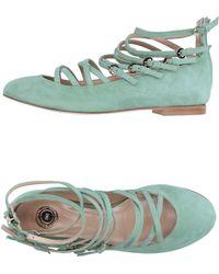 Elisabetta Franchi - Ballet Flats - Lyst