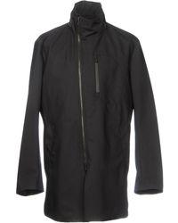 Armani - Overcoat - Lyst