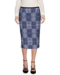 Manila Grace - 3/4 Length Skirt - Lyst