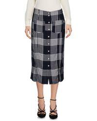 Obey - 3/4 Length Skirt - Lyst