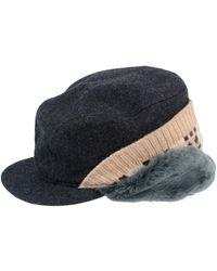 7e47dbf3b6975 Comme des Garçons Tartan Pattern Trilby Hat in Red for Men - Lyst