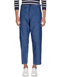 Oliver Spencer - Denim Trousers - Lyst