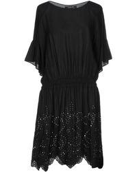 Kristina Ti - Mini Dress In Black - Lyst
