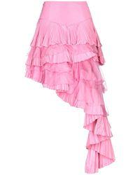 Maria Grazia Severi - 3/4 Length Skirt - Lyst