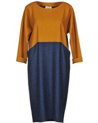 Niu - Knee-length Dress - Lyst