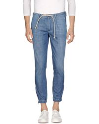 Paolo Pecora - Denim Trousers - Lyst