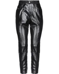 2045eb9bd16603 Women's DIESEL Cropped trousers Online Sale - Lyst