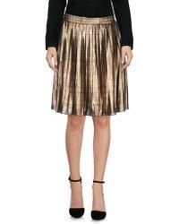 POP Copenhagen - Knee Length Skirt - Lyst