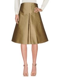 Solace London - 3/4 Length Skirts - Lyst