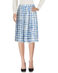 RED Valentino - 3/4 Length Skirts - Lyst