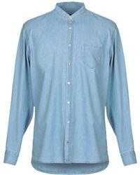 Laboratori Italiani - Denim Shirt - Lyst