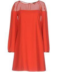 Armani Jeans - Short Dress - Lyst