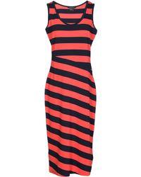 Armani Exchange   3/4 Length Dress   Lyst