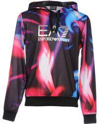 EA7 - Sweatshirt - Lyst