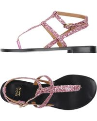 Raoul - Toe Strap Sandals - Lyst