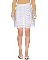Vero Moda - Mini Skirt - Lyst
