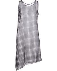 Pollini By Rifat Ozbek - Short Dress - Lyst
