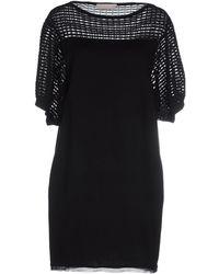 Stefanel - Short Dress - Lyst