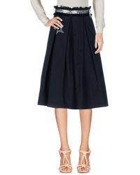 History Repeats - 3/4 Length Skirt - Lyst