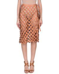 Altuzarra - 3/4 Length Skirt - Lyst