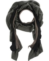 Label Under Construction - Oblong Scarf - Lyst