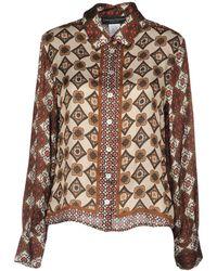 Cristina Gavioli Collection - Shirt - Lyst